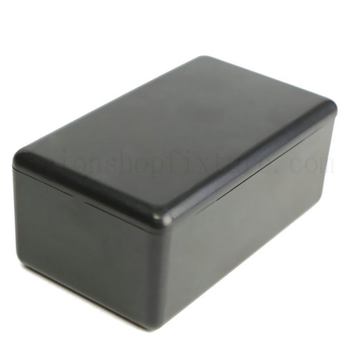 Waterproof Black Plastic Box Electrical Wire Box Project